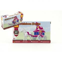 Stavebnice Dromader pro Holky 24201 57 ks v krabici 16,5 x 9,5 x 4,5 cm