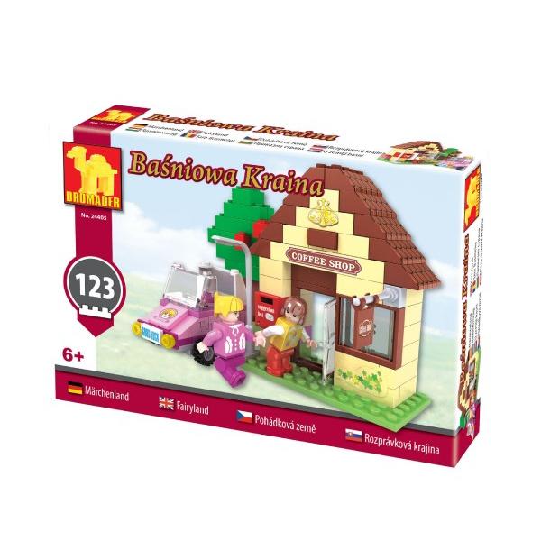 Stavebnice Dromader pro Holky 24405 123ks v krabici 22x15x4,5cm