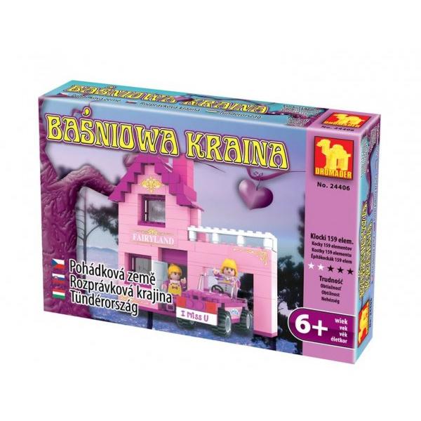 Stavebnica Dromader pre Holky 24406 159ks v krabici 22x15x4,5cm