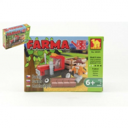 Stavebnice Dromader Farma 28301 93 ks