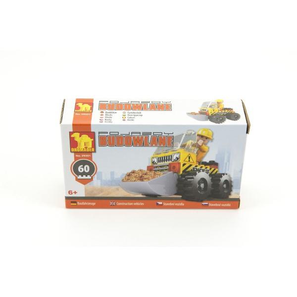 Stavebnica Dromader Auto Bager 29201 60ks v krabici 16,5x9,5x4,5cm