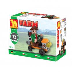 Stavebnice Dromader Traktor farma 92899 32 ks