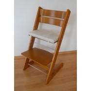 Detská rastúca stolička JITRO KLASIK dub