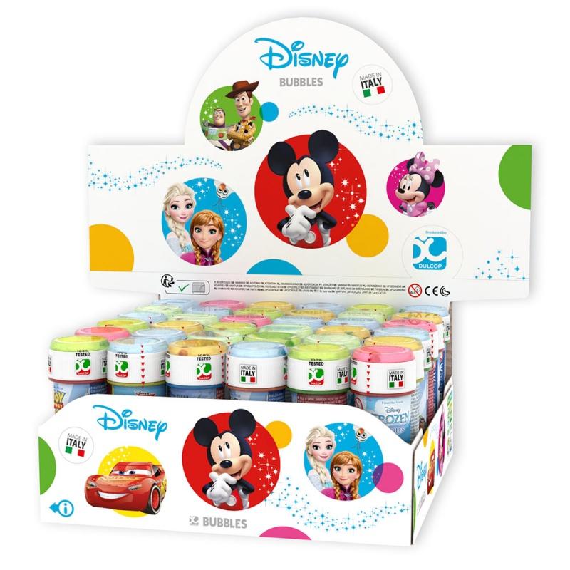 bublifuk Disney 4 druhy 60 ml