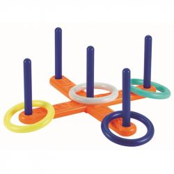 Hádzanie krúžkov - kríž (4 krúžky)