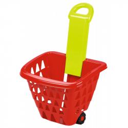 Nákupný košík na kolieskach skladacia