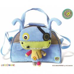 Stylová dětská taška Monster - sv. modrá