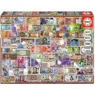 Puzzle 1000 elementów, Banknoty