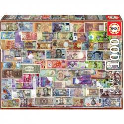 Puzzle 1000 dielikov - Bankovky