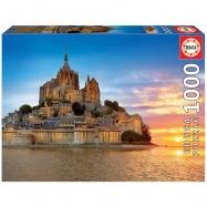Puzzle 1000 elementów, Mont Saint Michel France