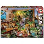 Puzzle 6000 dílků - Divoká zvířata