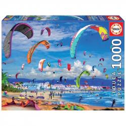Puzzle 1000 dielikov - Kitesurfing