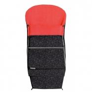 Fusak COMBI EXTRA čierny + červený