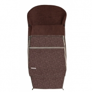 Emitex Śpiworek do wózka COMBI EXTRA, brązowy