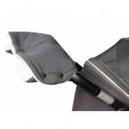 Rukávník kočár PREMIUM - šedý + krémový