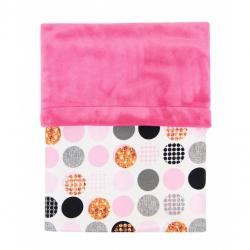 Deka MIMI bublina pink + Velvet fuchsie