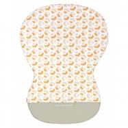 Podložka MOBY - bavlna 3D kostka okr