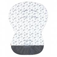 Podložka MOBY - bavlna 3D kostka šedá