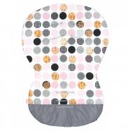 Podložka MOBY - bavlna bublina pink