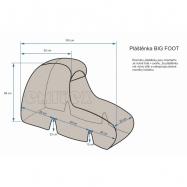 Osłona przeciwdeszczowa BIG FOOT