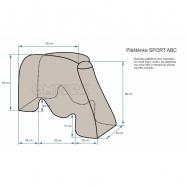 Osłona przeciwdeszczowa SPORT ABC