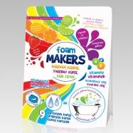 Farebná pena do kúpeľa Foam Markes 9 x 35 g