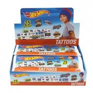 Tetování Hot Wheels start set