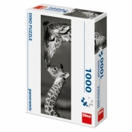Puzzle 1000 dílků Žirafy panoramic