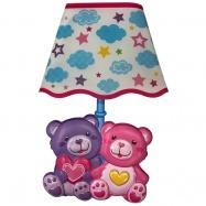 Dětská lampička na zeď medvídci