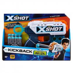 X-SHOT - kickback pištoľ s 8 nábojmi