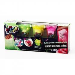So Slime 3 pack - świeci w ciemności