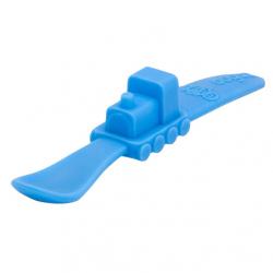Lžička vláček Oogaa modrá