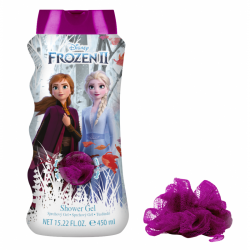 Shower gel + žínka Ledové království 450 ml
