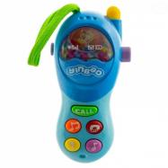 Interaktívna hračka s melódiu Mobil - modrý