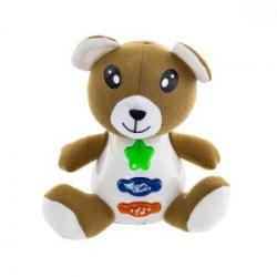Interaktivní hračka s melodií - Medvídek