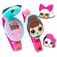 Digitálne hodinky LOL s překvapeníma