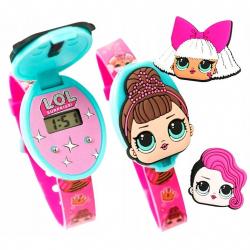 Digitální hodinky LOL s překvapeníma