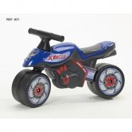 Odstrkovadlo - motorka modrá