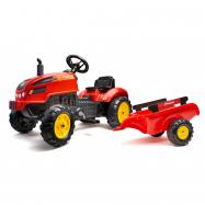 Traktor šlapací Xtractor červený