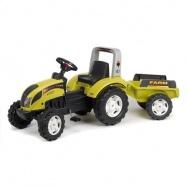 Traktor Ranč světle zelený + odpojitelný vozík