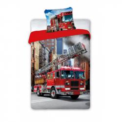 Dětské povlečení hasičské auto  140x200 cm