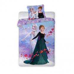 Detské obliečky Anna a Elsa 2 140x200 cm