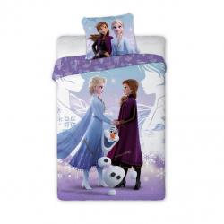 Detské obliečky Anna, Elsa a Olaf 140x200 cm