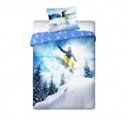 Povlečení Snowboarding 200x140 cm
