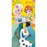 Dziecięcy ręcznik kąpielowy Frozen 012