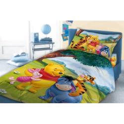 Pościel dla dzieci Kubuś Puchatek 033 100x135