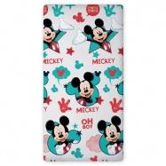 Bavlněné prostěradlo Mickey 04
