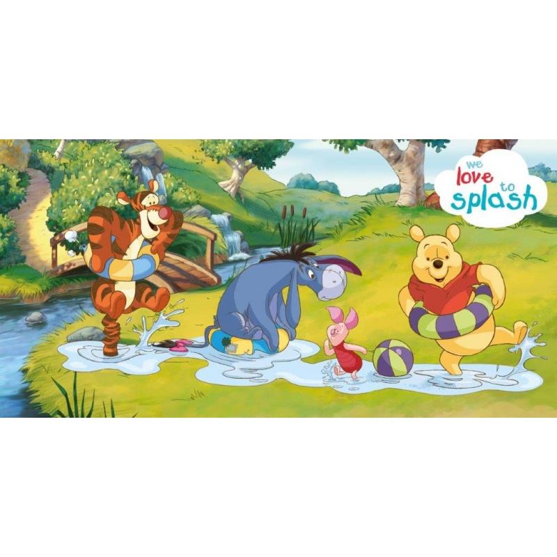 Dětská osuška Medvídek Pú 019