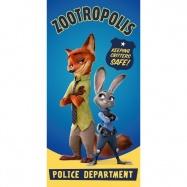 Dětská osuška Město zvířat-Zootropolis 004 Zootropolis