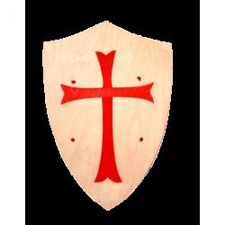 Fauna- Drevený štít s krížom